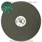 Green Sisal Close Stitched